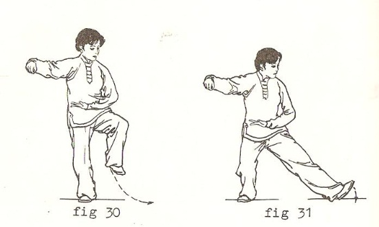 5. Single whip (2)
